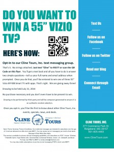 Texting Flyer-TV Giveaway1